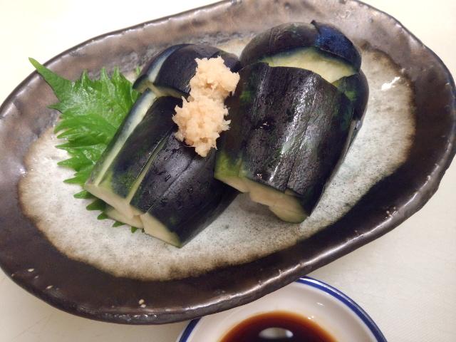 水茄子 料理 おいしいですよ。京都市の人気の居酒屋 上京区の 乃ん㐂